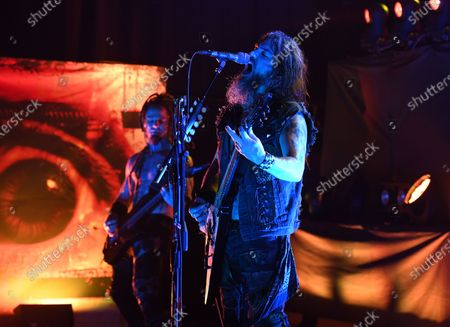 Editorial photo of Machine Head in concert at Revolution Live, Fort Lauderdale, USA - 27 Jan 2020
