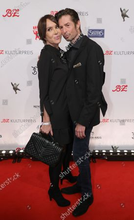 Stock Photo of German actress Anouschka Renzi (L) and German actor Jochen Horst arrive for the B.Z. Culture Award ceremony in Berlin, Germany, 28 January 2020. Since 1991, the Berlin tabloid newspaper B.Z. awards this annual prize to personalities that contributed to the cultural and artistic diversity in the German capital.