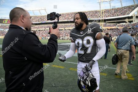 Editorial picture of Pro Bowl Football, Orlando, USA - 26 Jan 2020