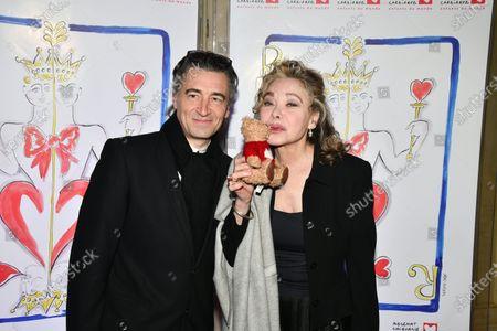 Jean Pierre Jacquin and Grace de Capitani