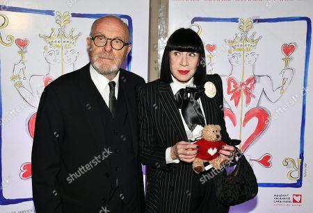 Stock Photo of Michel Fabian and Chantal Thomass