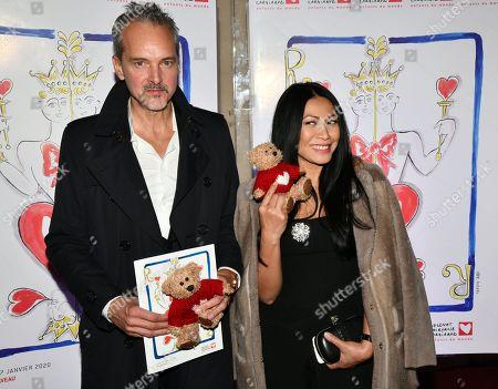 Christian Kretschmar and Anggun