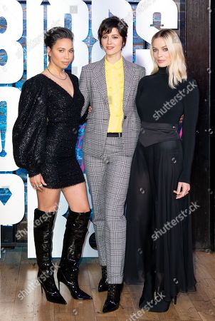Jurnee Smollett-Bell, Mary Elizabeth Winstead and Margot Robbie