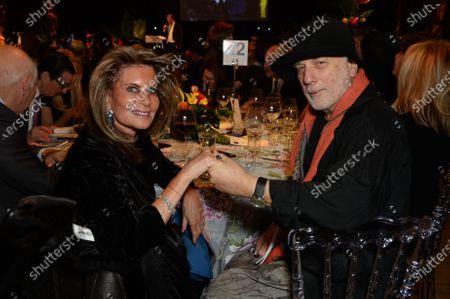 Marion Naggar and Ron Arad