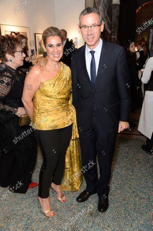 Editorial photo of BFAMI Gala and Art Auction, London, UK - 28 Jan 2020