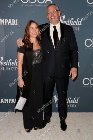 Stock Picture of Shira Piven and Adam McKay