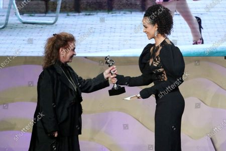 """Donna Zakowska - Excellence in Period Television - 'The Marvelous Mrs. Maisel: """"ItÕs Comedy or Cabbage""""' - Presented by Nathalie Emmanuel"""
