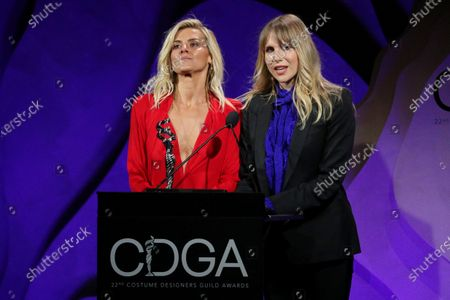 Eliza Coupe and Lucy Punch