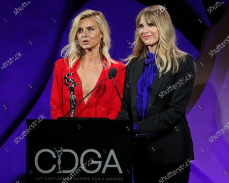 Stock Photo of Eliza Coupe and Lucy Punch