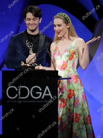 James Scully and Kathryn Newton