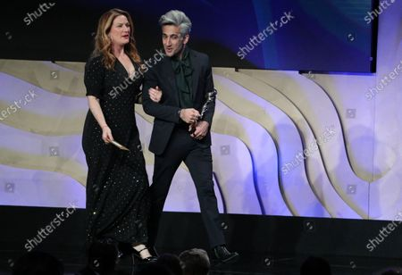 Ana Gasteyer and Tan France