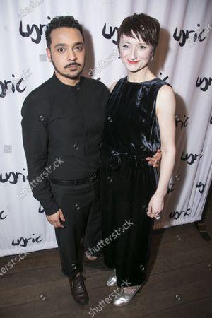 Stock Photo of Danny Lee Wynter (Mephistopheles) and Jodie McNee (Johanna Faustus)