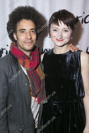 Justin Audibert and Jodie McNee (Johanna Faustus)