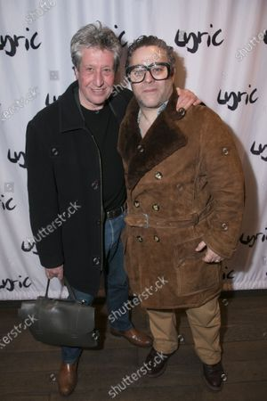 Stock Image of David Cardy and Andy Nyman