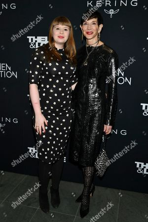 Editorial photo of 'Thelma and Louise' Women in Motion screening event, Arrivals, The Museum of Modern Art, New York, USA - 28 Jan 2020