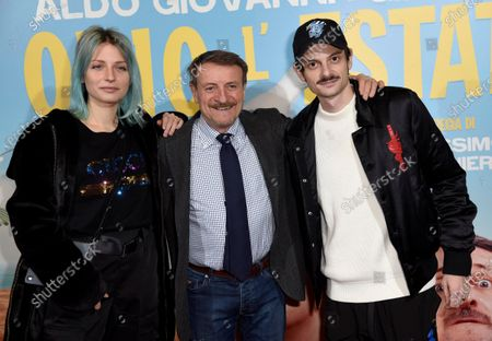 Editorial picture of 'Odio l'estate' film premiere, The Space Cinema, Milan, Italy - 28 Jan 2020