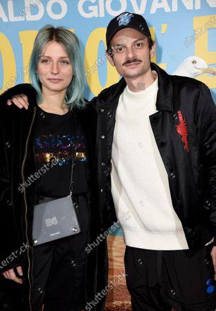 Editorial photo of 'Odio l'estate' film premiere, The Space Cinema, Milan, Italy - 28 Jan 2020