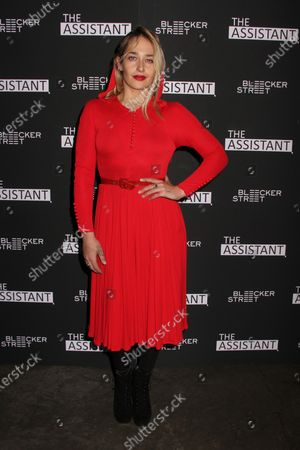 Editorial picture of 'The Assistant' film screening, Arrivals, Metrograph, New York, USA - 28 Jan 2020