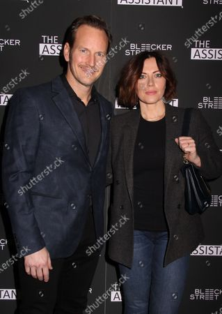 Stock Picture of Patrick Wilson and Dagmara Dominczyk