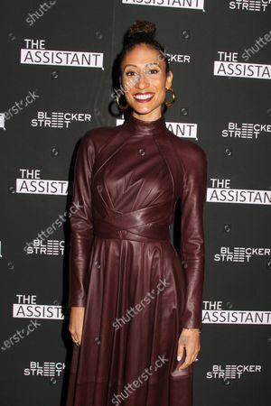 Editorial photo of 'The Assistant' film screening, Arrivals, Metrograph, New York, USA - 28 Jan 2020