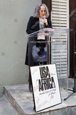 Editorial image of 35th Anniversary of 'We Are The World' song, Henson Recording Studios, Los Angeles, USA - 28 Jan 2020