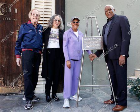 Stock Picture of Ken Kragen, Gina Belafonte, Dionne Warwick and Lloyd Greig
