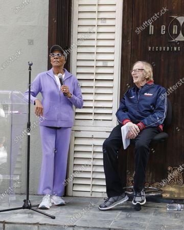 Stock Photo of Dionne Warwick and Ken Kragen