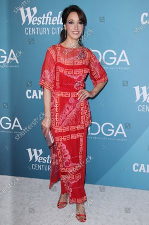 Editorial picture of 22nd Costume Designers Guild Awards, Arrivals, The Beverly Hilton, Los Angeles, USA - 28 Jan 2020