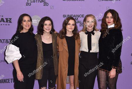 Miriam Shor, Molly Brown, Oona Laurence, Amy Ryan and Lola Kirke