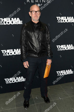 """Stock Image of Michael Stipe attends Kering's Women in Motion program special screening of """"Thelma & Louise"""" at the Museum of Modern Art, in New York"""