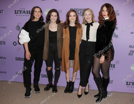 Miriam Shor, Molly Brown, Oona Laurence, Amy Ryan, and Lola Kirke arrive for the premiere of 'Lost Girls' at the 2020 Sundance Film Festival in Park City, Utah, USA, 28 January 2020. The festival runs from the 22 January to 02 February 2020.