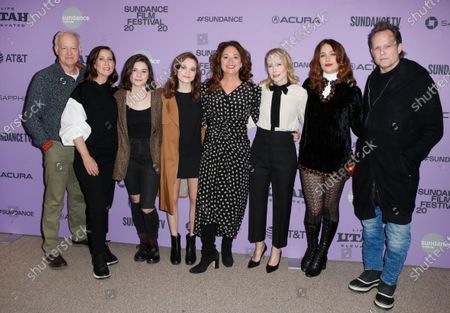 Reed Birney, Miriam Shor, Molly Brown, Oona Laurence, Amy Ryan, Lola Kirke and Dean Winters arrive for the premiere of 'Lost Girls' at the 2020 Sundance Film Festival in Park City, Utah, USA, 28 January 2020. The festival runs from the 22 January to 02 February 2020.