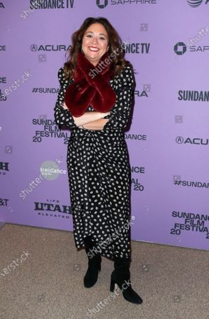 Liz Garbus  arrives for the premiere of 'Lost Girls' at the 2020 Sundance Film Festival in Park City, Utah, USA, 28 January 2020. The festival runs from the 22 January to 02 February 2020.