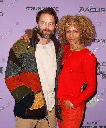 Michelle Hurd (R) and Garret Dillahunt  (L) arrive for the premiere of 'Sergio' at the 2020 Sundance Film Festival in Park City, Utah, USA, 28 January 2020. The festival runs from the 22 January to 02 February 2020.