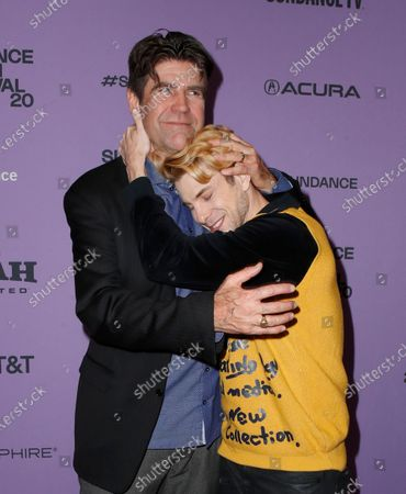 Greg Barker (L) and Producer Daniel Dreifuss (R) arrives for the premiere of 'Sergio' at the 2020 Sundance Film Festival in Park City, Utah, USA, 28 January 2020. The festival runs from the 22 January to 02 February 2020.