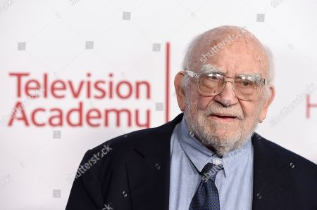 Ed Asner attends the 25th Television Academy Hall of Fame on at the Television Academy's Saban Media Center in North Hollywood, Calif