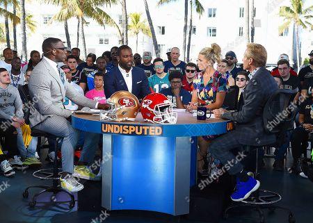 Editorial picture of Super Bowl LIV,  Fox Sports media day,  Miami,  USA - 28 Jan 2020