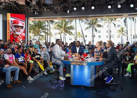 Editorial image of Super Bowl LIV,  Fox Sports media day,  Miami,  USA - 28 Jan 2020