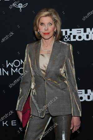 Editorial image of 'Thelma and Louise' Women in Motion screening event, Arrivals, The Museum of Modern Art, New York, USA - 28 Jan 2020