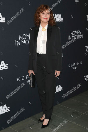 """Susan Sarandon attends Kering's Women in Motion program special screening of """"Thelma & Louise"""" at the Museum of Modern Art, in New York"""