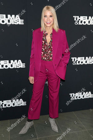 "Candace Bushnell attends Kering's Women in Motion program special screening of ""Thelma & Louise"" at the Museum of Modern Art, in New York"