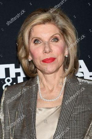 """Stock Image of Christine Baranski attends Kering's Women in Motion program special screening of """"Thelma & Louise"""" at the Museum of Modern Art, in New York"""