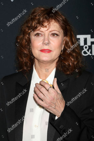 """Stock Image of Susan Sarandon attends Kering's Women in Motion program special screening of """"Thelma & Louise"""" at the Museum of Modern Art, in New York"""