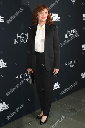 """Stock Photo of Susan Sarandon attends Kering's Women in Motion program special screening of """"Thelma & Louise"""" at the Museum of Modern Art, in New York"""