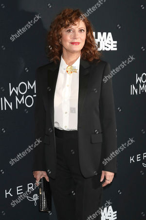 """Stock Picture of Susan Sarandon attends Kering's Women in Motion program special screening of """"Thelma & Louise"""" at the Museum of Modern Art, in New York"""