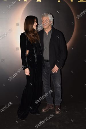 Kasia Smutniak and Domenico Procacci
