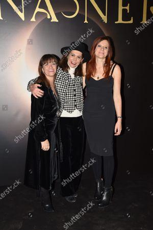 Paola Randi, Francesca Comencini and Susanna Nicchiarelli