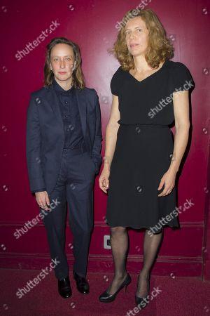 Celine Sciamma and Claire Mathon