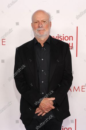 US television director James Burrows poses on the red carpet prior to the Television Academy Hall of Fame induction ceremony, in Los Angeles, California, USA, 28 January 2020.