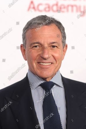 US Chairman and CEO of The Walt Disney Company Robert A. Iger poses on the red carpet prior to the Television Academy Hall of Fame induction ceremony, in Los Angeles, California, USA, 28 January 2020.